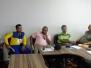 Diretores da AME-SPM visitam a sede da FEHNATECT em Brasília