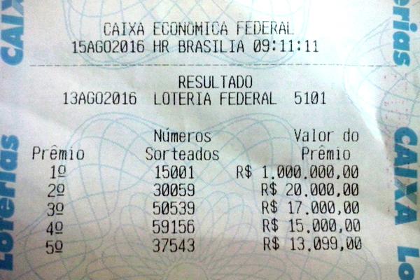 image_resultado_loteria_federal_sorteio_dia_dos_pais_ame_13_de_agosto_de_2016